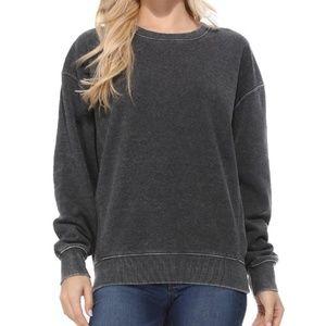 NWT Super Soft Charcoal Gray Sweatshirt